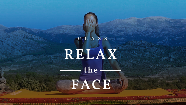 Relax the face